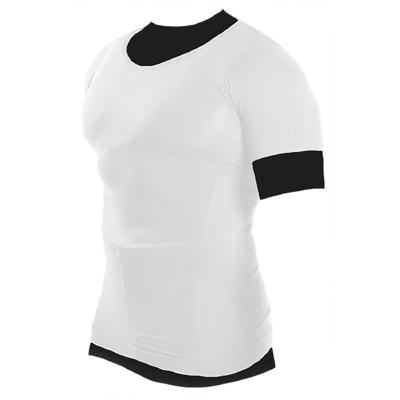 メンズ加圧シャツ ホワイト Lサイズ