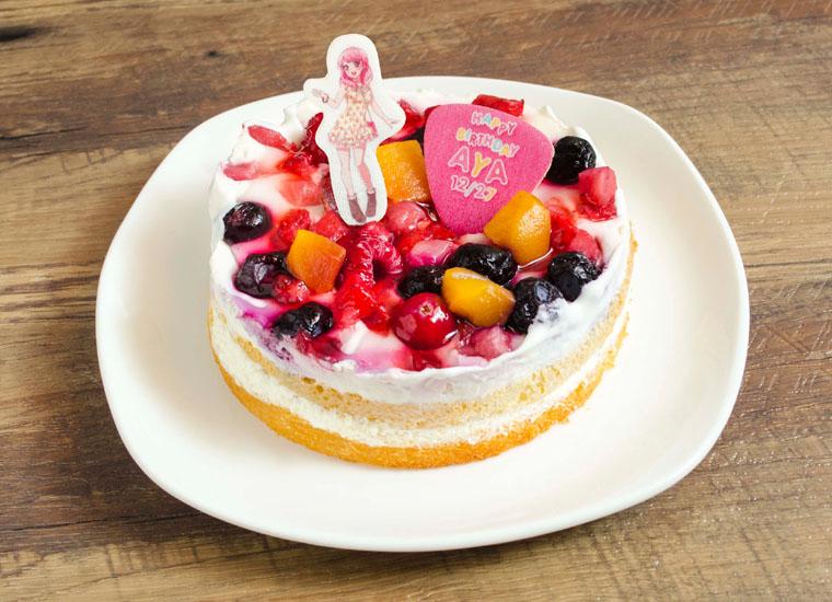 彩のケーキ