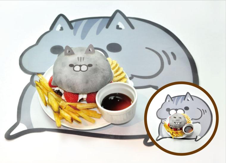 あんまんボンレス猫バーガー
