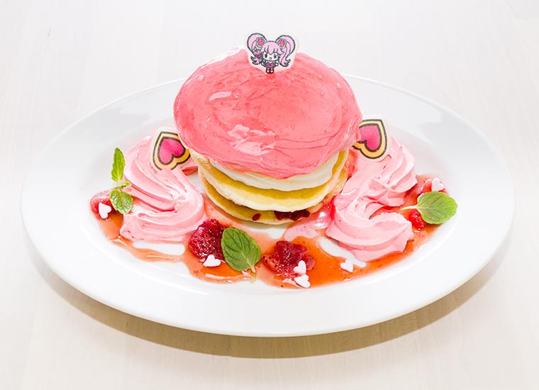 リリカのベリーソースパンケーキ