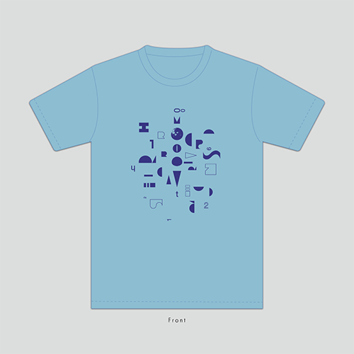 FLASH T-SHIRT<2020 ANOTHER COLOR>LIGHT BLUE