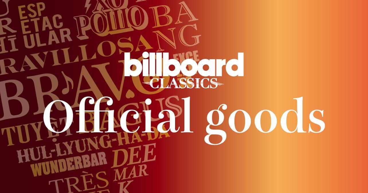 billboard classics オリジナルグッズ