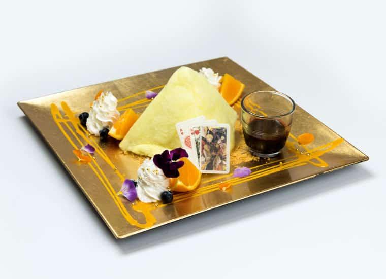 黄金と太陽の勝負師 チーズケーキ