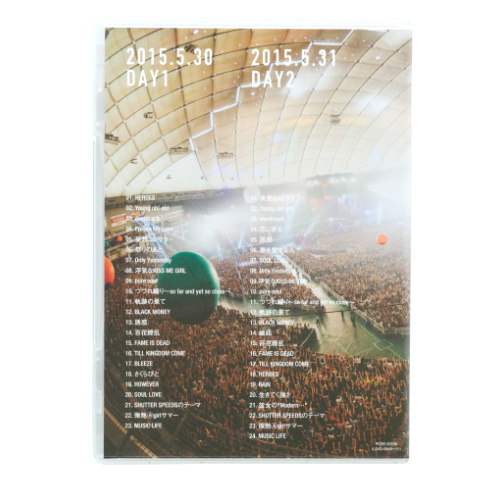 <DVD>20th Anniversary Final GLAY in TOKYO DOME 2015 Miracle Music Hunt Forever –SPECIAL BOX-