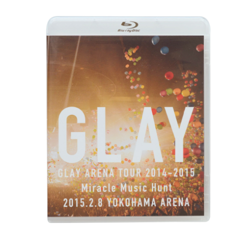 <Blu-ray>20th Anniversary Final GLAY in TOKYO DOME 2015 Miracle Music Hunt Forever –SPECIAL BOX-