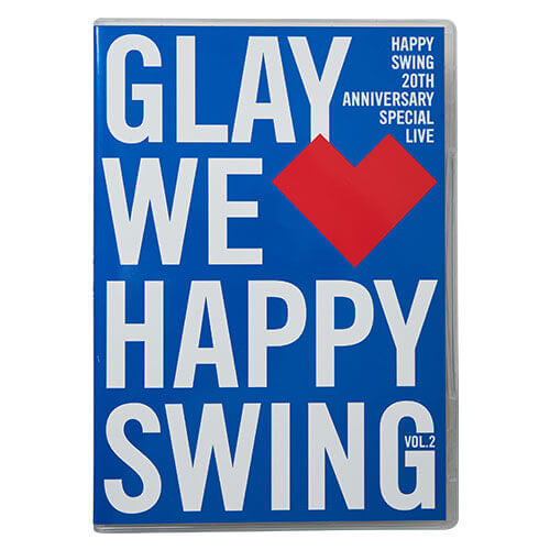 <DVD>HAPPY SWING 20th Anniversary SPECIAL LIVE~We♡Happy Swing~ Vol.2<通常盤>
