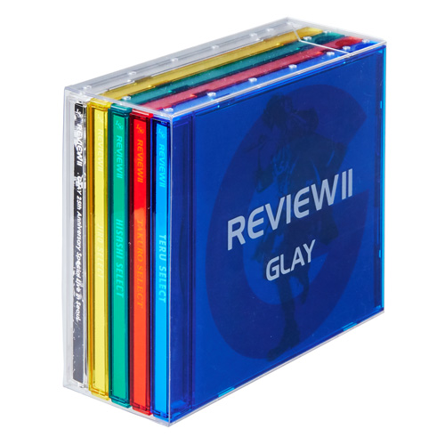 <4CD+Blu-ray>『REVIEWⅡ 〜BEST OF GLAY〜』