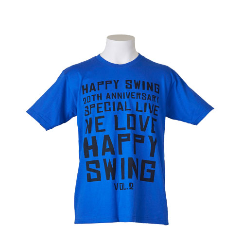 "<WLHS 2016>""We♡Happy Swing""Tシャツ(ブルー)"