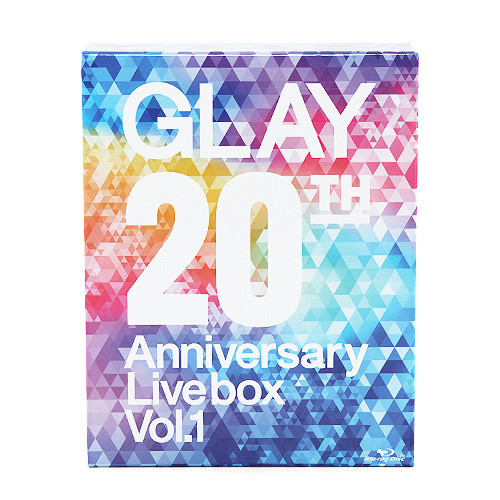 <Blu-ray>GLAY 20th Anniversary LIVE BOX VOL.1