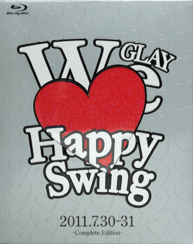 <Blu-ray>HAPPY SWING 15th Anniversary SPECIAL LIVE 〜We Love Happy Swing〜 in MAKUHARI-Complete Edition-