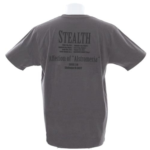 STEALTH Tシャツ・グレー