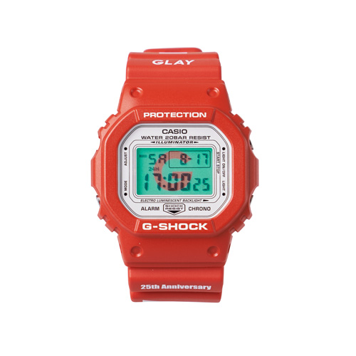 "GLAY 25th Anniversary LIMITED G-SHOCK ""DEMOCRACY"""