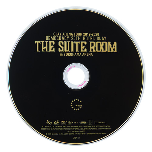 <DVD>GLAY ARENA TOUR 2019-2020 DEMOCRACY 25TH HOTEL GLAY THE SUITE ROOM in YOKOHAMA ARENA
