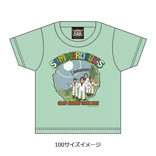 <SD 2017>GLAY × The World of GOLDEN EGGS KIDS Tシャツ
