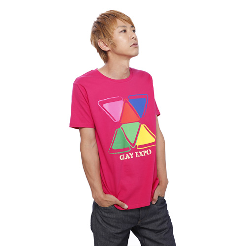 <GLAY EXPO 2014> EXPO Tシャツ (ピンク)