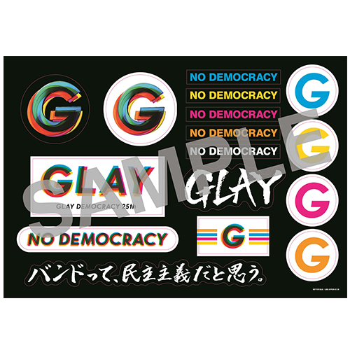 <1CD+3Blu-ray+グッズ(G-DIRECT限定Special Edition)>『NO DEMOCRACY』