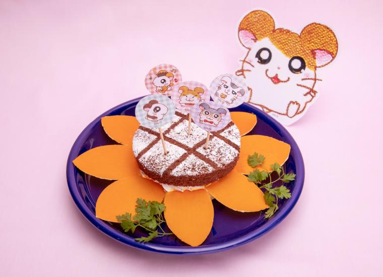 ひまわりケーキ