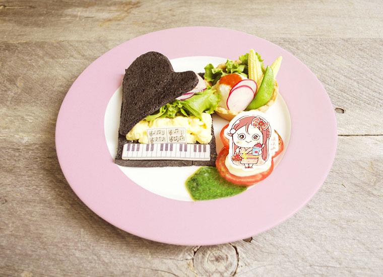 桜内梨子<br>ピアノサンド