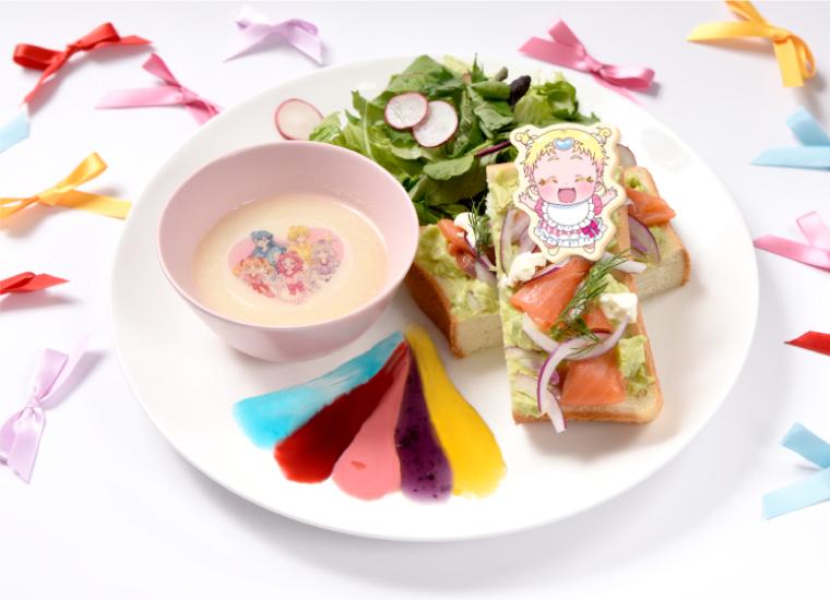 めっちゃイケてる!サラダオープンサンド~美味しさ無☆限☆大~