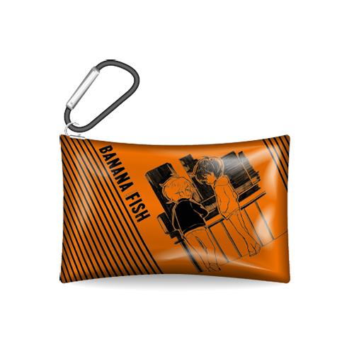 クリアマルチケース(オレンジ)
