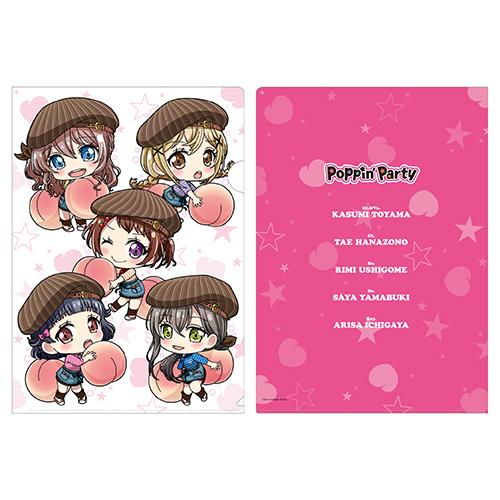 クリアファイル(Poppin'Party)