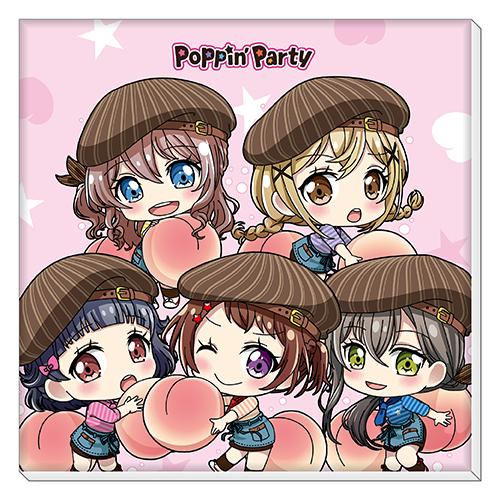 ミニキャンバスアート(Poppin'Party)