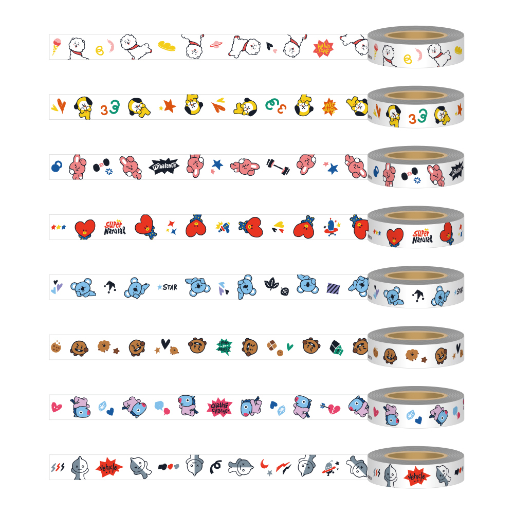マスキングテープ(全8種)