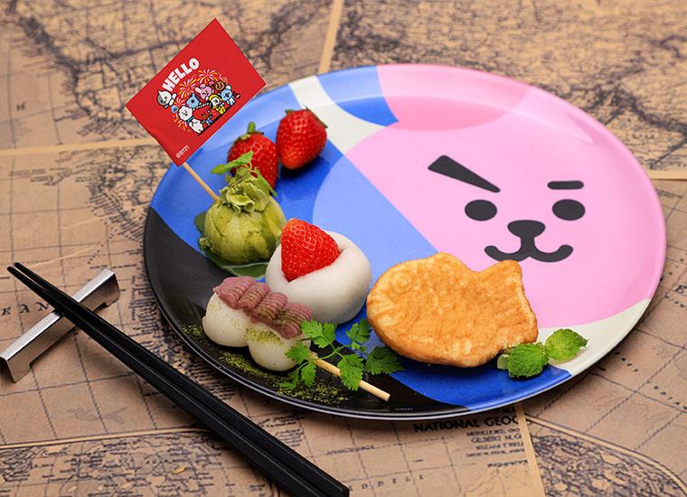 日本デザートプレート