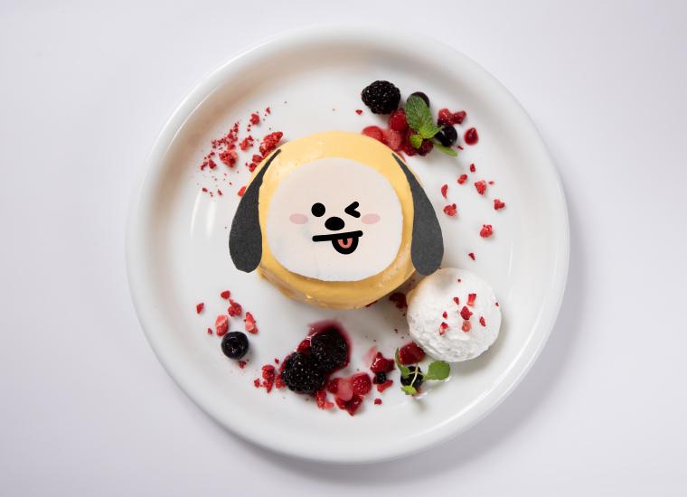 CHIMMYのイエローパンケーキ