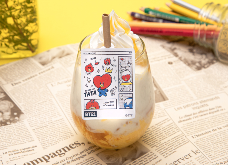 TATA (マンゴープリン×ミルク)