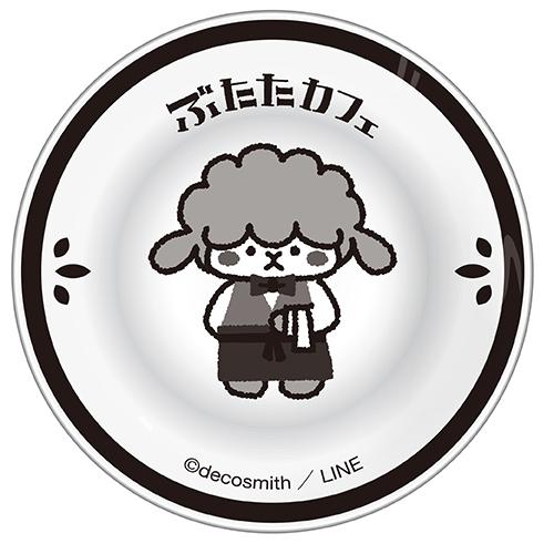 ぶたたカフェ 豆皿(めーた)