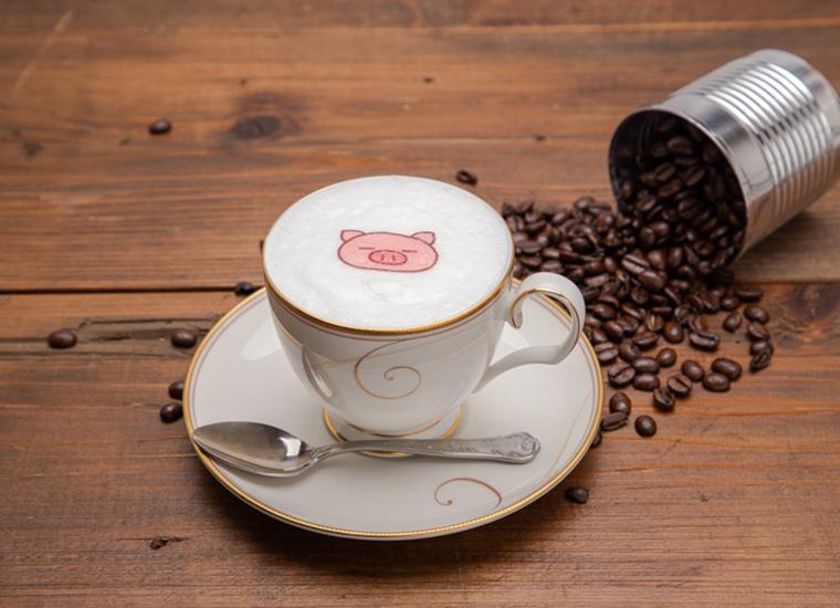 ぶたたのカフェラテ