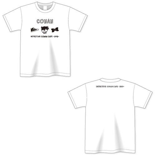 名探偵コナンカフェ2019 キッズTシャツ(江戸川コナン)
