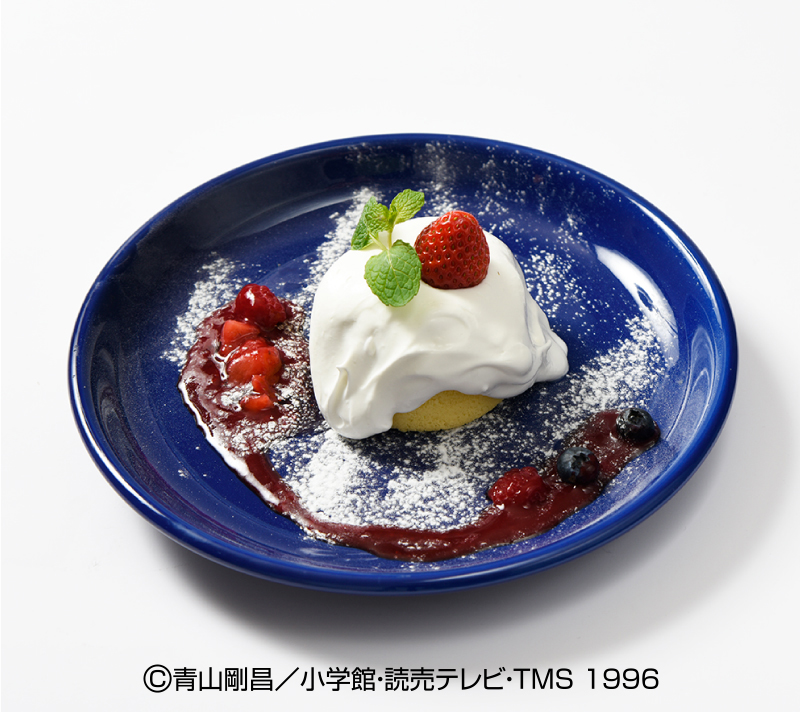 安室透の半熟風ケーキ