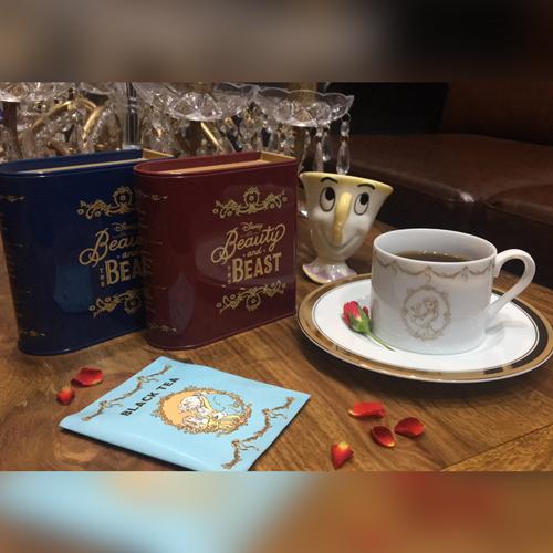 紅茶缶セット<ブルー>/ <レッド>