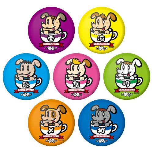 缶バッジ (ランダム7種)