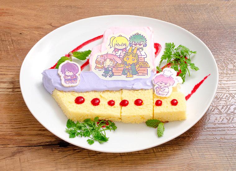 鬼兵隊×ゴロピカドン&マイメロディの船型ケーキ