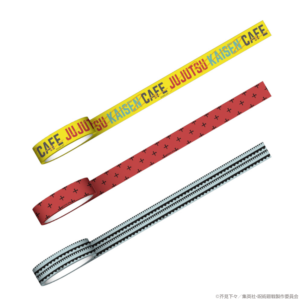 マスキングテープ(釘崎野薔薇・五条悟)