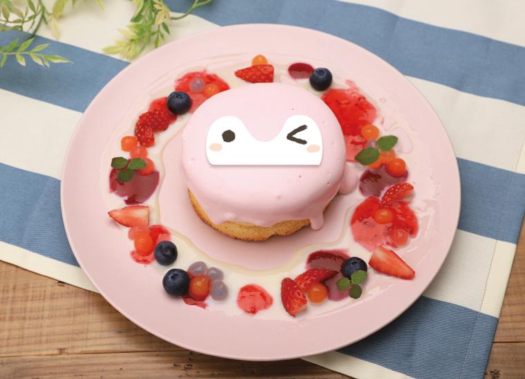 パンケーキ ピンクコウペンちゃん