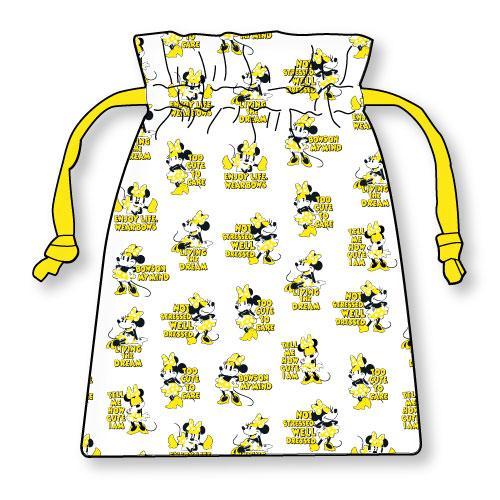 サテン巾着
