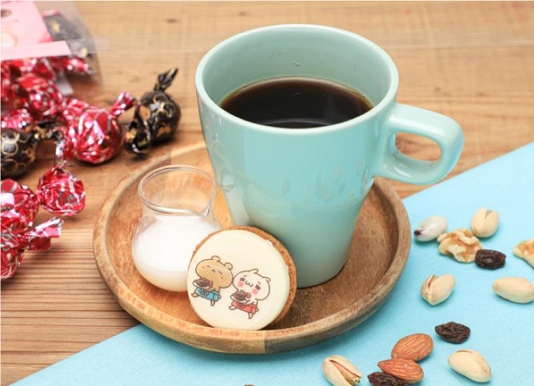 にゃんくまのあつあつホットコーヒー
