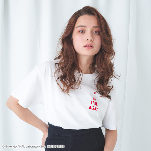 PLAYFUL KIRBY Tシャツ ver.7(PLAYFUL KIRBY)(WHITE)