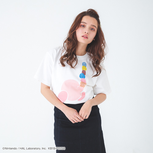 PLAYFUL KIRBY Tシャツ ver.9(ICE CREAM)