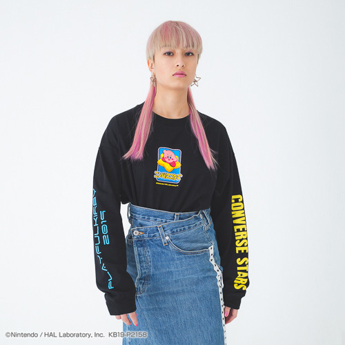 PLAYFUL KIRBY × CONVERSE STARS ロングTシャツ(KIRBY)