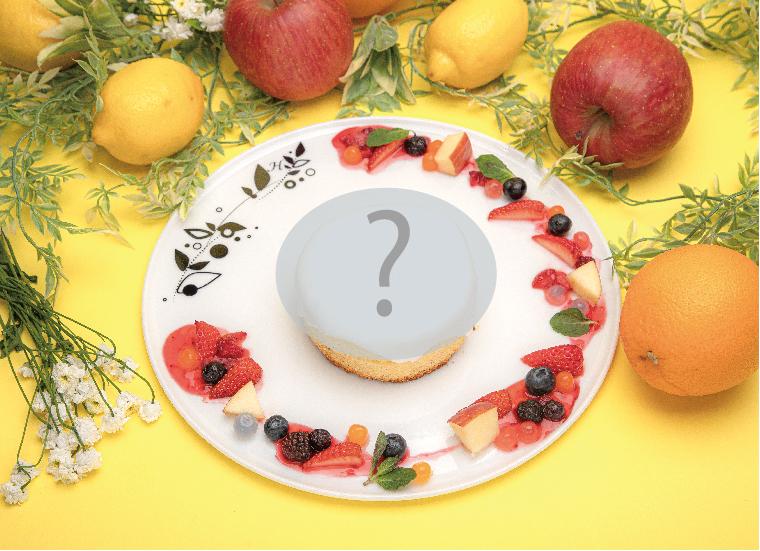 何が起こるの?いちごとベリーのパンケーキ