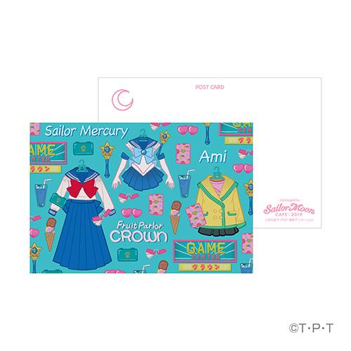 セーラームーンカフェ2019 ポストカード(水野亜美)