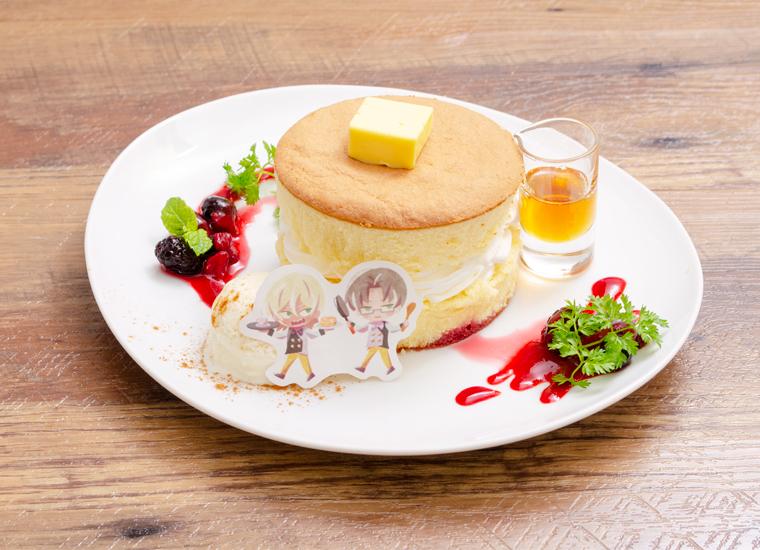 玲央と真武の思い出パンケーキ