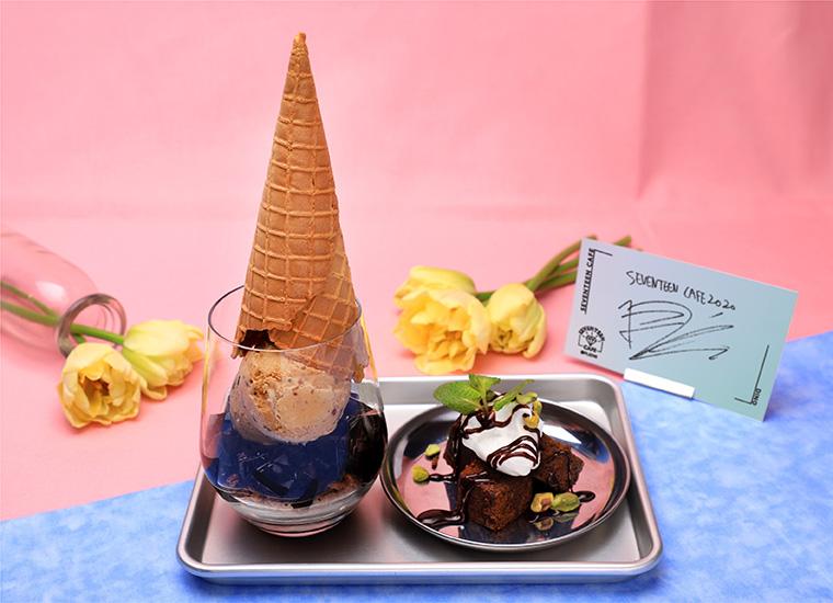 【DINO】ジェラート風デザート