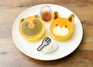 タヌキツパンケーキ