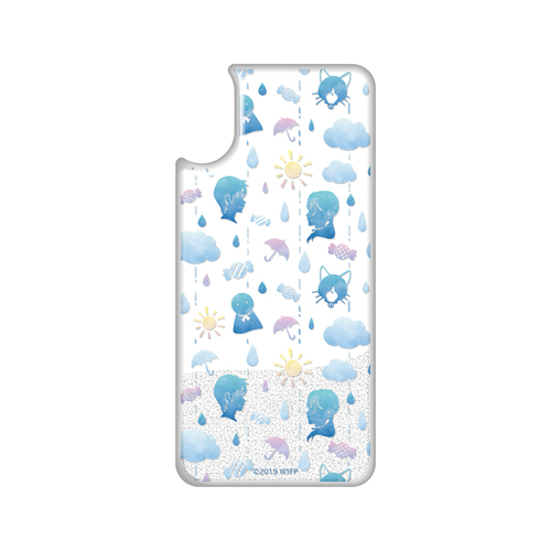 キラキラ雨ふりスマートフォンケース(X)